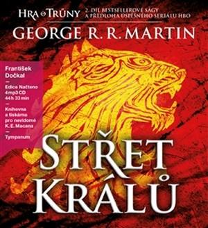 Střet Králů 2 - Píseň ledu a ohně (audiokniha) - 4 MP3 CD