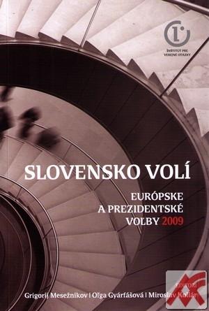 Slovensko volí. Európske a prezidentské voľby 2009 + DVD