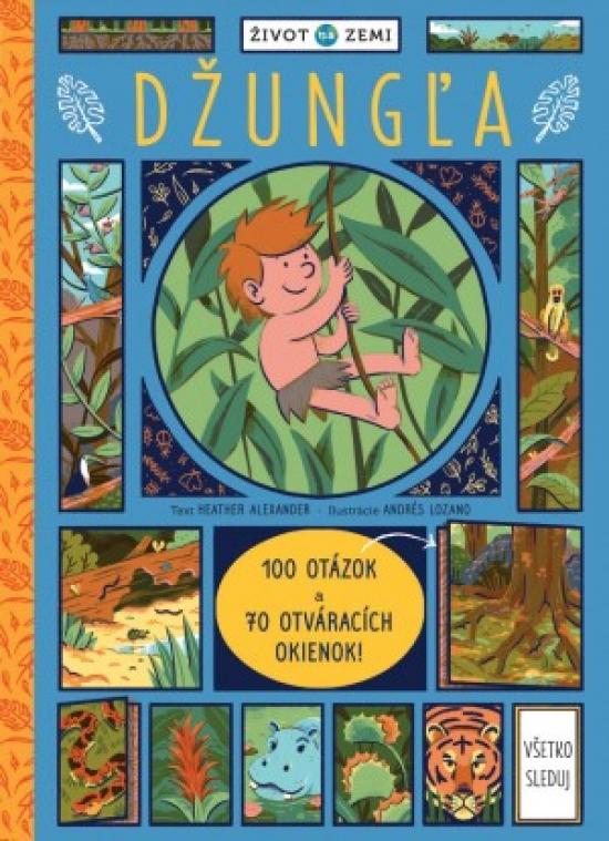 Džungla - 100 otázok a 70 okienok!