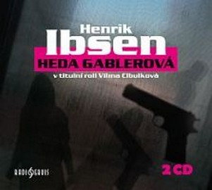 Heda Gablerová - 2 CD (audiokniha)