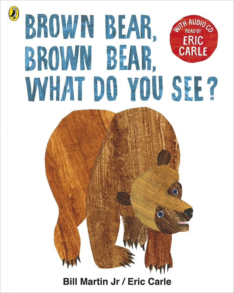 Brown Bear, Brown Bear, What Do You See? + CD