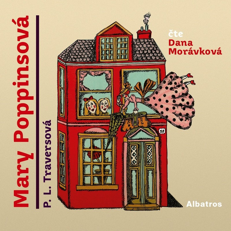 Mary Poppinsová - CD (audiokniha)