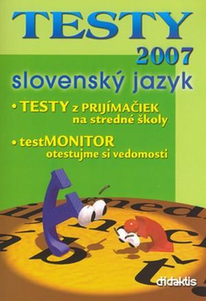 Testy 2007. Slovenský jazyk