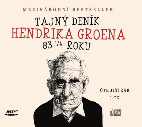 Tajný deník Hendrika Groena 83 1/4 roku - CD MP3 (audiokniha)