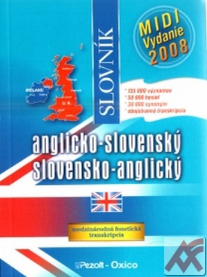 Anglicko-slovenský a slovensko-anglický slovník - midi vydanie