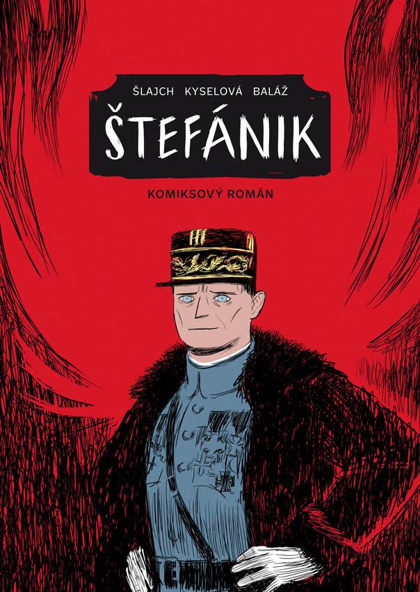 Štefánik. Komiksový román (české vydanie)